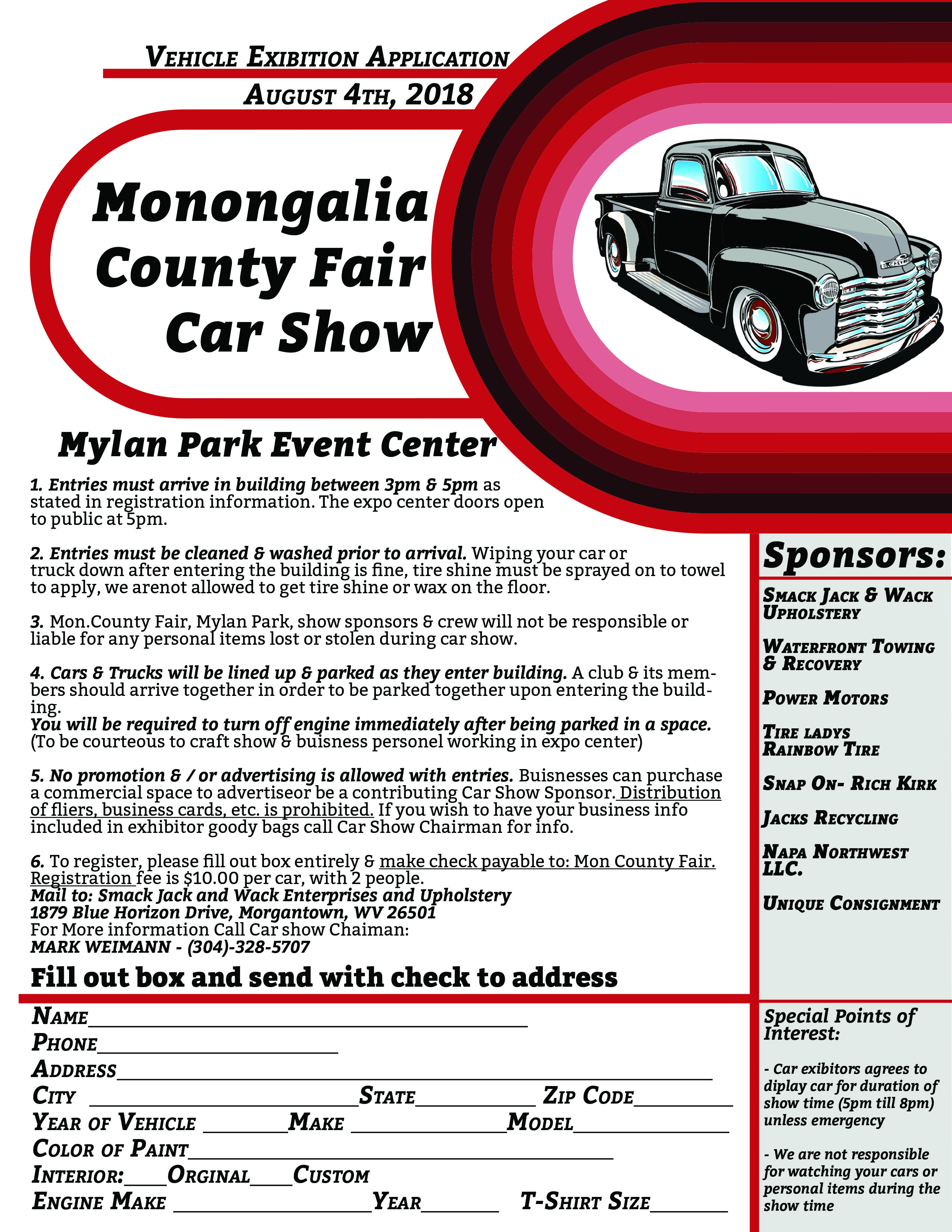 Car Show MONONGALIA COUNTY FAIR - Any car shows near me